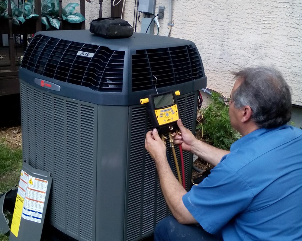 Commissioning an air conditioner