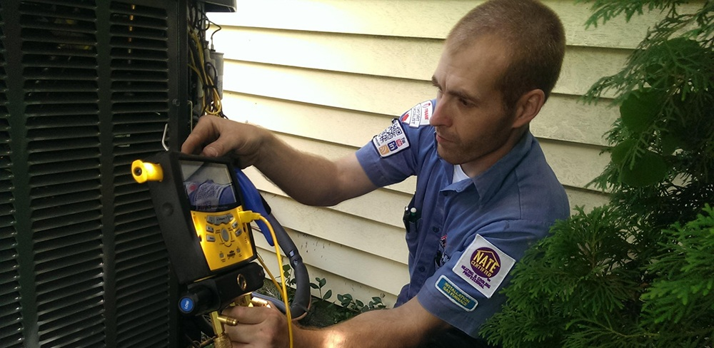 Commissioning HVAC equipment