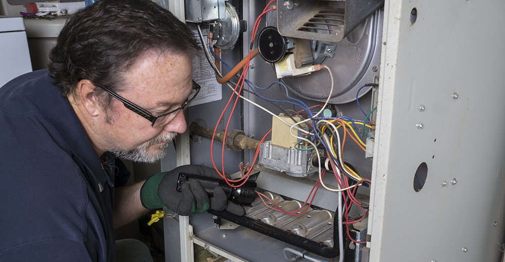 Reapiring an HVAC system