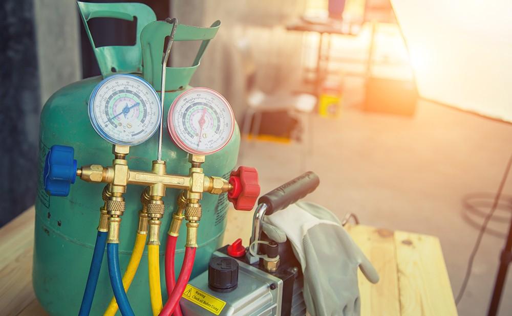 Refrigerant and HVAC supplies