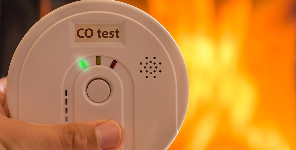 CO Detector in home
