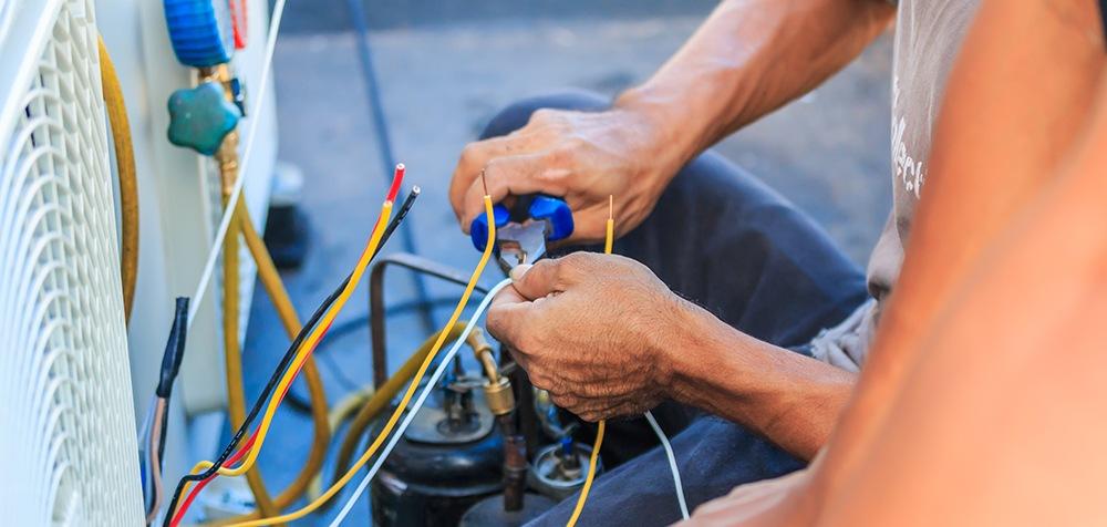 Multi-family air conditioner repair.